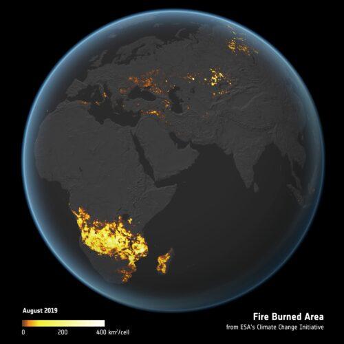 Fire-burned area 2019